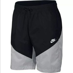 Nike Sportswear NSW Windrunner Black Grey Shorts